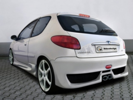 "Rear Bumper Peugeot 206 ""MAXSTYLE"" iBherdesign"