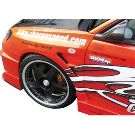 Chargespeed Voorspatborden passend voor Subaru Impreza GD# (F/G) 'D-1 Style'