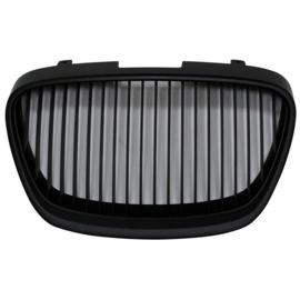 Embleemloze Grill passend voor Seat Leon 1P Facelift 2009-2012 Excl. FR/Cupra