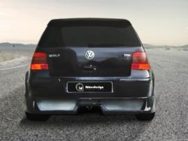 """Rear Bumper spoiler VW Golf IV """"INSTINCT"""" iBherdesign"""