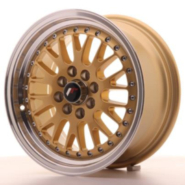 JR-Wheels JR10 Wheels Gold 15 Inch 7J ET30 4x100/108