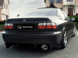 "Rear Bumper Honda Civic Coupe ""KOMODO"" iBherdesign"