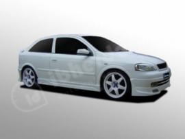 """Front Bumper Spoiler Opel Astra G """"MYURA"""" iBherdesign"""