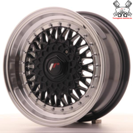JR-Wheels JR9 Black 15 Inch 7J ET20 4x100/108