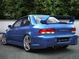 """Rear Bumper Subaru Impreza """"MAZTHER WIDE"""" iBherdesign"""