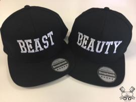 Beauty & Beast Cap zwart