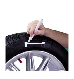 Bandenstift 'Tyre-Marker' - Wit