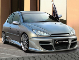 "Body Kit Peugeot 206 ""TEKNO"" iBherdesign"