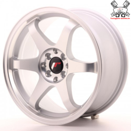 JR-Wheels JR3 Flat Silver Machined 17 Inch 8J ET35 5x100/114.3