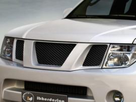 "Front Grille Nissan Navara D40 ""TANGIER WIDE"" iBherdesign"