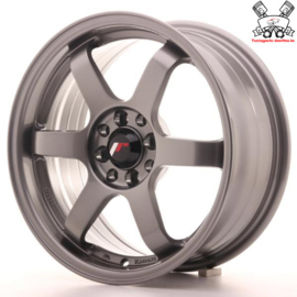 JR-Wheels JR3 Gun Metal 16 Inch 7J ET40 4x100/114.3