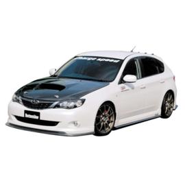Chargespeed Voorspoiler passend voor Subaru Impreza GH8 A/B 9/2007- BottomLine (FRP)