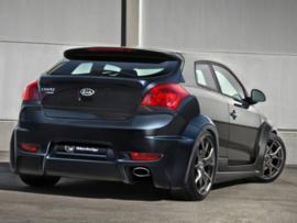 """Rear bumper Kia Pro Cee'd Coupe """"RAZZOR"""" iBherdesign"""