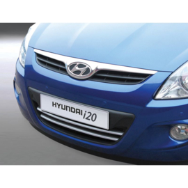 RGM Grill lijsten passend voor Hyundai i20 3/5-deurs 2009-2015 - zilver - set à 2 stuks (ABS)