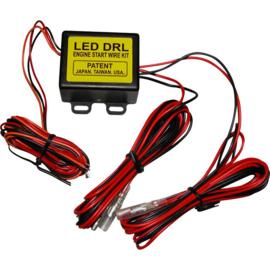 Kabelset t.b.v. automatische lichtschakeling Dagrijlampen (DRL) - Direct op accu