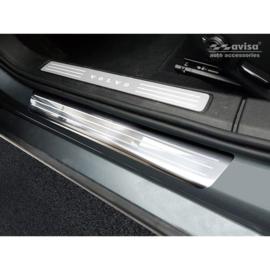 RVS Instaplijsten passend voor Volvo S60 III & V60 II 2018- - 'Lines' - 4-delig