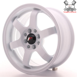 JR-Wheels JR3 White 15 Inch 7J ET40 4x100/114.3