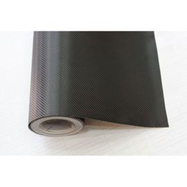 Rol 3D Carbonfolie 152x3000cm Zwart, zelfklevend