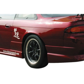 Chargespeed Spatbordverbreders passend voor Achter Nissan S14 + 50mm