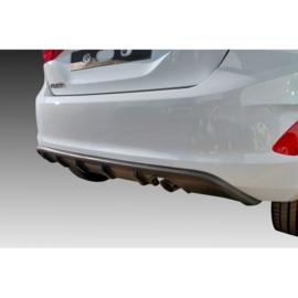 Achterbumperskirt (Diffuser) passend voor Ford Fiesta VIII 2017- (ABS)