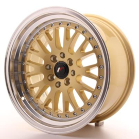 JR-Wheels JR10 Wheels Gold 16 Inch 8J ET10 4x100/114.3