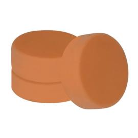 Set Polijstsponzen 150mm Oranje/Soft, 3-stuks
