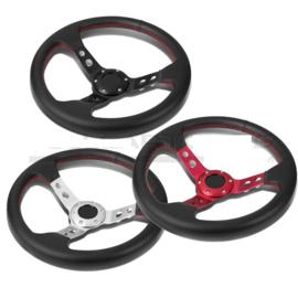 SK-Import Drift Steering Wheel 75mm Leer