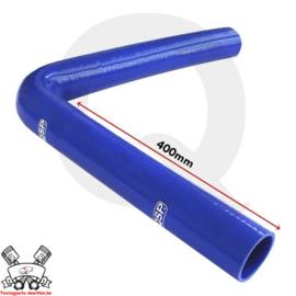 Silicone bocht 90° XL (keuze uit diverse binnendiameters) Blauw