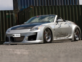 "Front Wheel Arches Nissan 350Z ""VENOM WIDE"" iBherdesign"