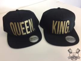 King & Queen Cap Gold