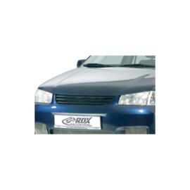Motorkapverlenger passend voor Volkswagen Polo 6N2 1999-2001 + geïntegreerd half maantje (Metaal)