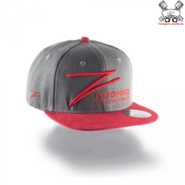Z-Performance Cap Grey/Red
