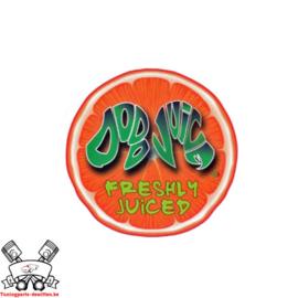 Dodo Juice - 'Freshly Juiced' sticker - orange