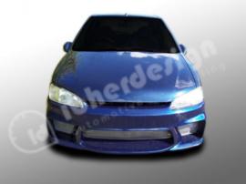 """Front Bumper Peugeot 106 """"WIZARD"""" iBherdesign"""