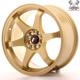 JR-Wheels JR3 Gold 17 Inch 8J ET35 5x100/114.3
