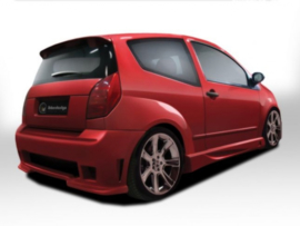 "Side Skirts Citroen C2 ""APACHE"" iBherdesign"
