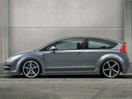 """Front Wheel Arches Citroen C4 """"SINDROMME WIDE"""" iBherdesign"""
