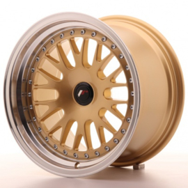 JR-Wheels JR10 Wheels Gold 16 Inch 9J ET20 Blank