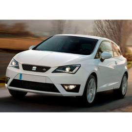 AutoStyle Voorbumper passend voor Seat Ibiza 6J Facelift 3/5deurs + ST 2013- 'FR-Look' incl. Grills & Mistlampen (PP)