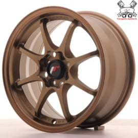 JR-Wheels JR5 Dark Anodize Bronze 15 Inch 7J ET35 4x100