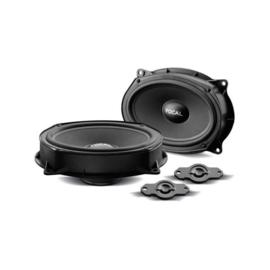 Focal ISRNI690 6x9'' inch Componenten Speakerset Passend voor: Nissan & Renault