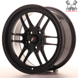 JR-Wheels JR7 Black 17 Inch 8J ET35 5x114.3