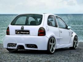 "Rear Bumper Opel Corsa B ""OPTIMA WIDE"" iBherdesign"