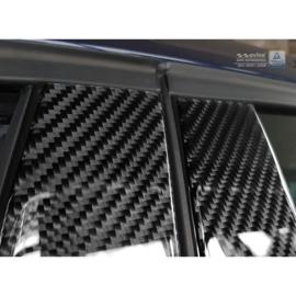 B-Stijl lijsten passend voor BMW 1-Serie F20 5-Deurs 2015- Zwart Carbon