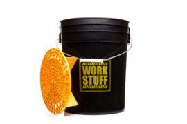 WORK STUFF Detailing Bucket RINSE + Grit Guard