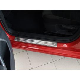 RVS Instaplijsten passend voor Volkswagen Golf VII 5-deurs & Variant 2012- - 'Exclusive' - 4-delig