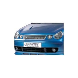 Motorkapverlenger passend voor Volkswagen Polo 9N 2002-2005 5-delig incl. half maantje (Metaal)