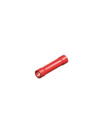 Half-geïsoleerde kabelverbinder rood