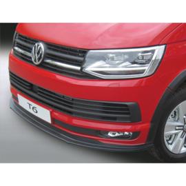 RGM Voorspoilerlip passend voor Volkswagen Transporter T6 2015- Zwart