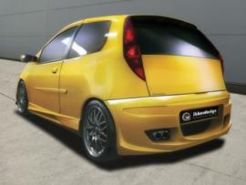 """Rear Bumper Fiat Punto II """"PHAZER"""" iBherdesign"""